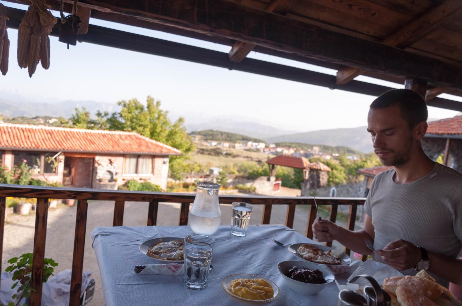Snídaně v Hani