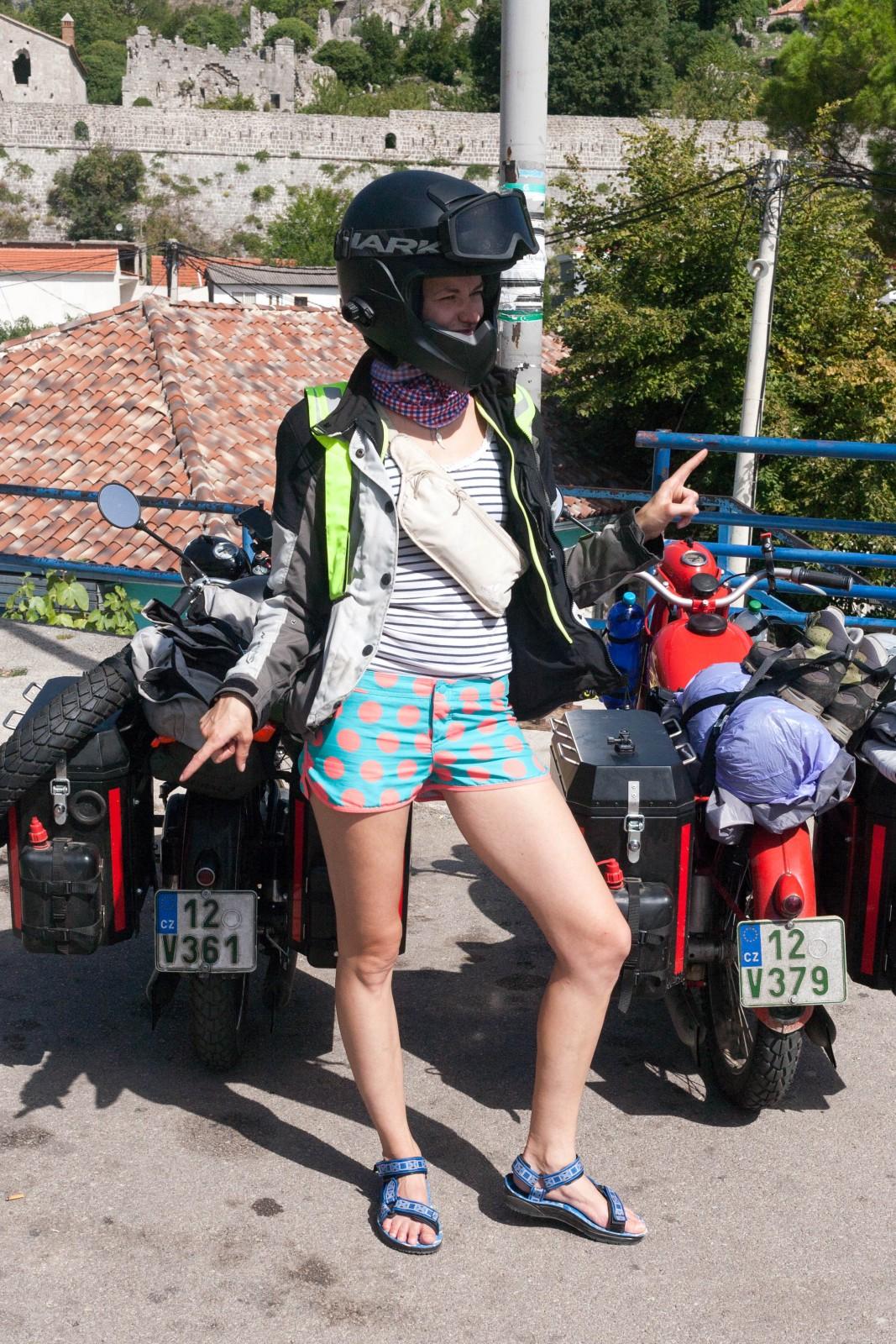 Motorkářská móda