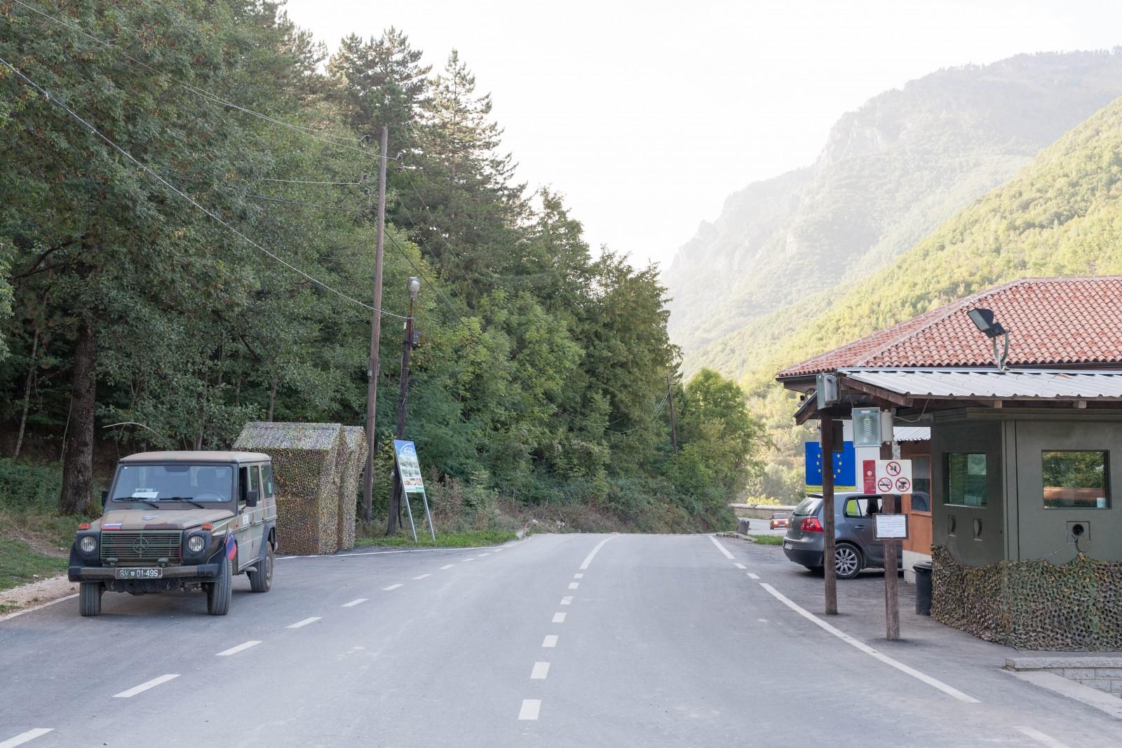 Kontrola v Kosovu