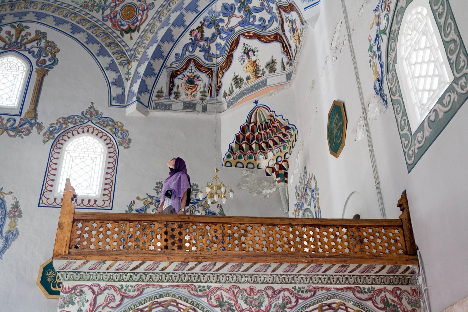 Ivanka v mešitě