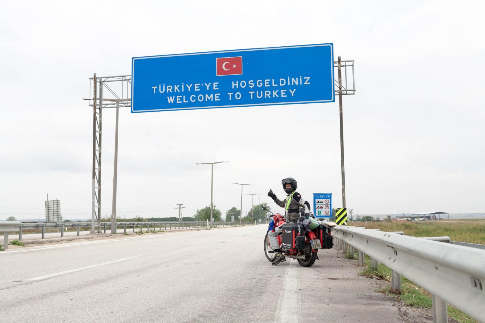 Přejezd tureckých hranic