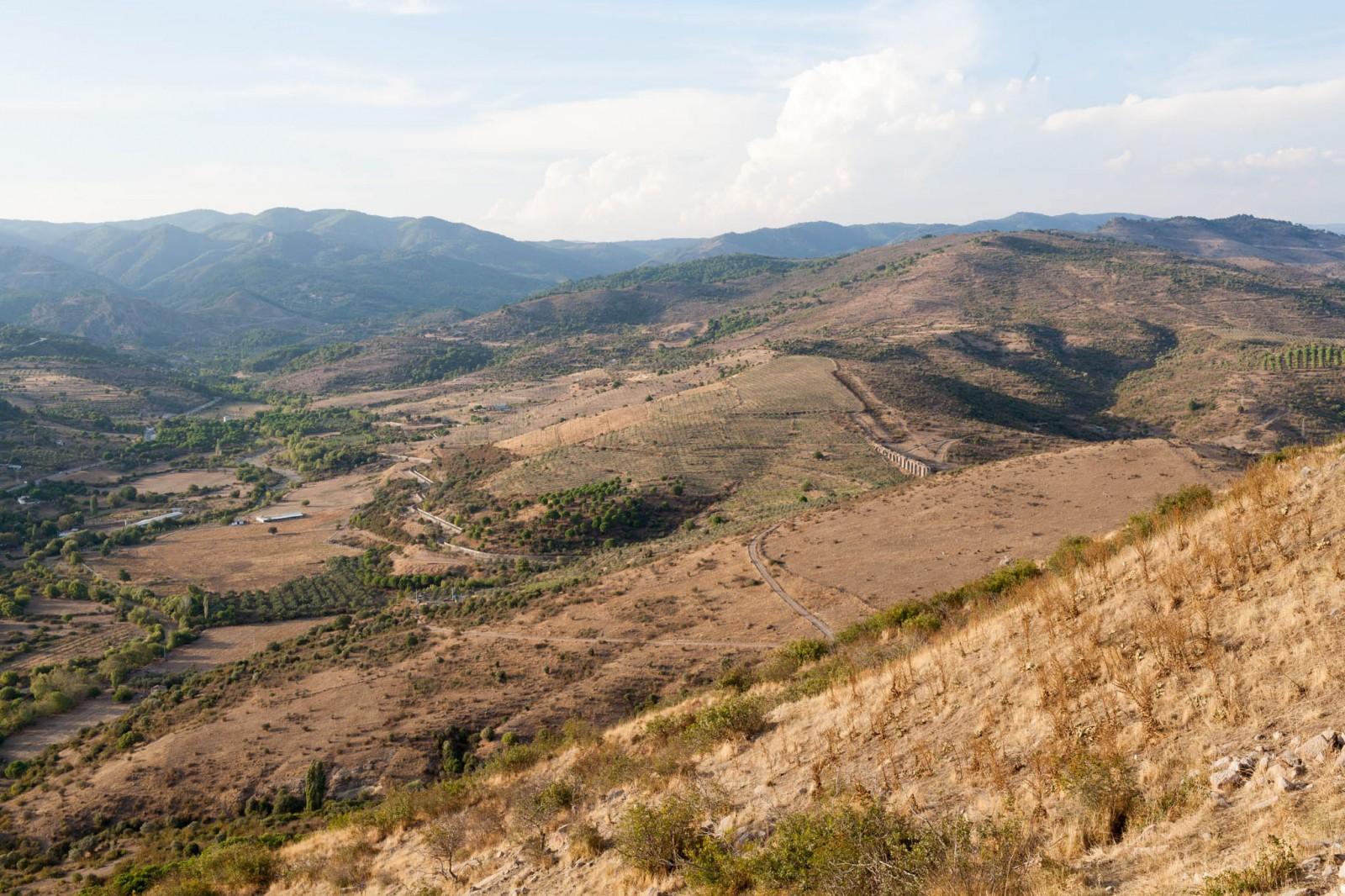 Výhled z Bergamy