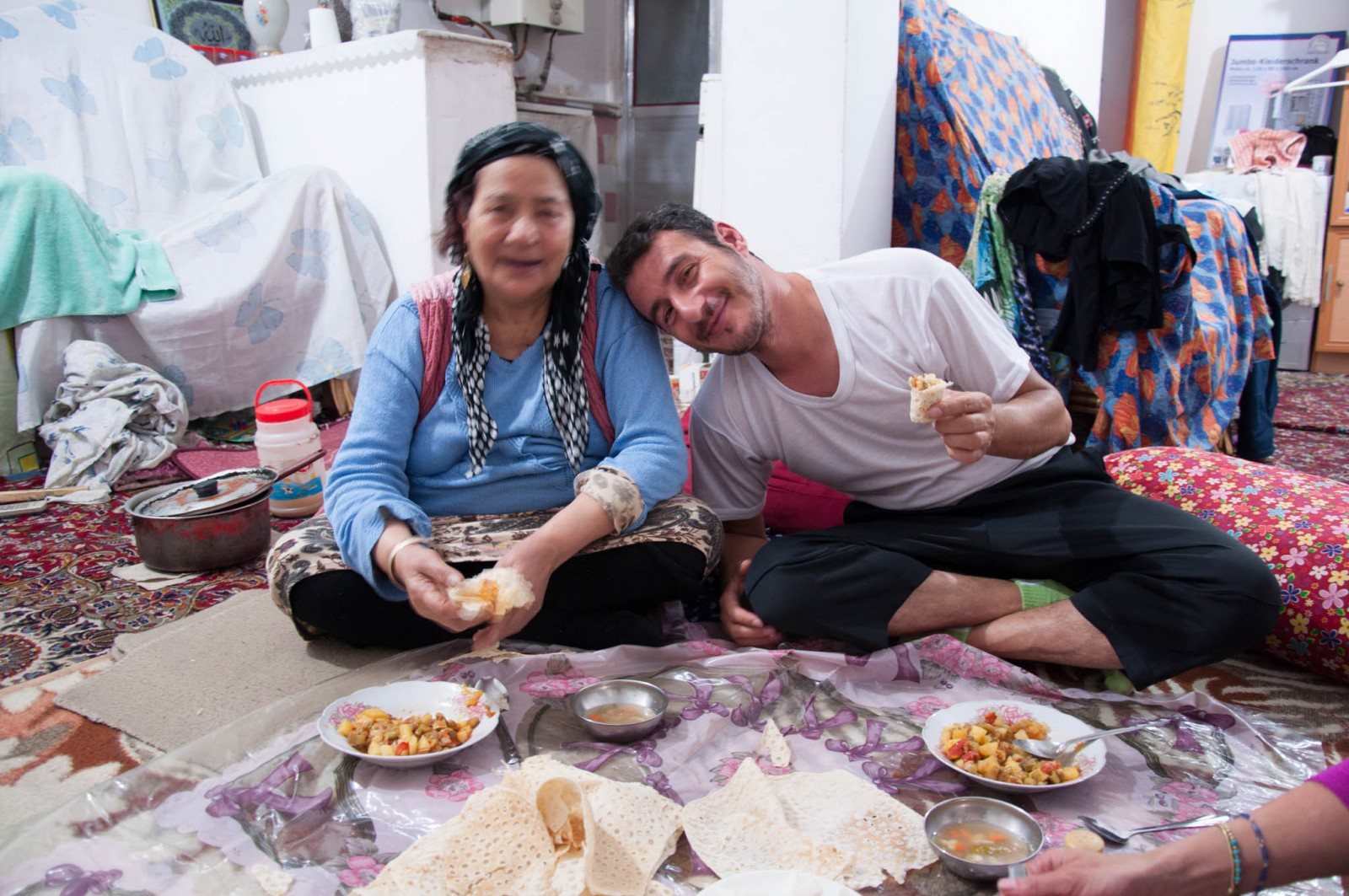 Erfan a jeho máma