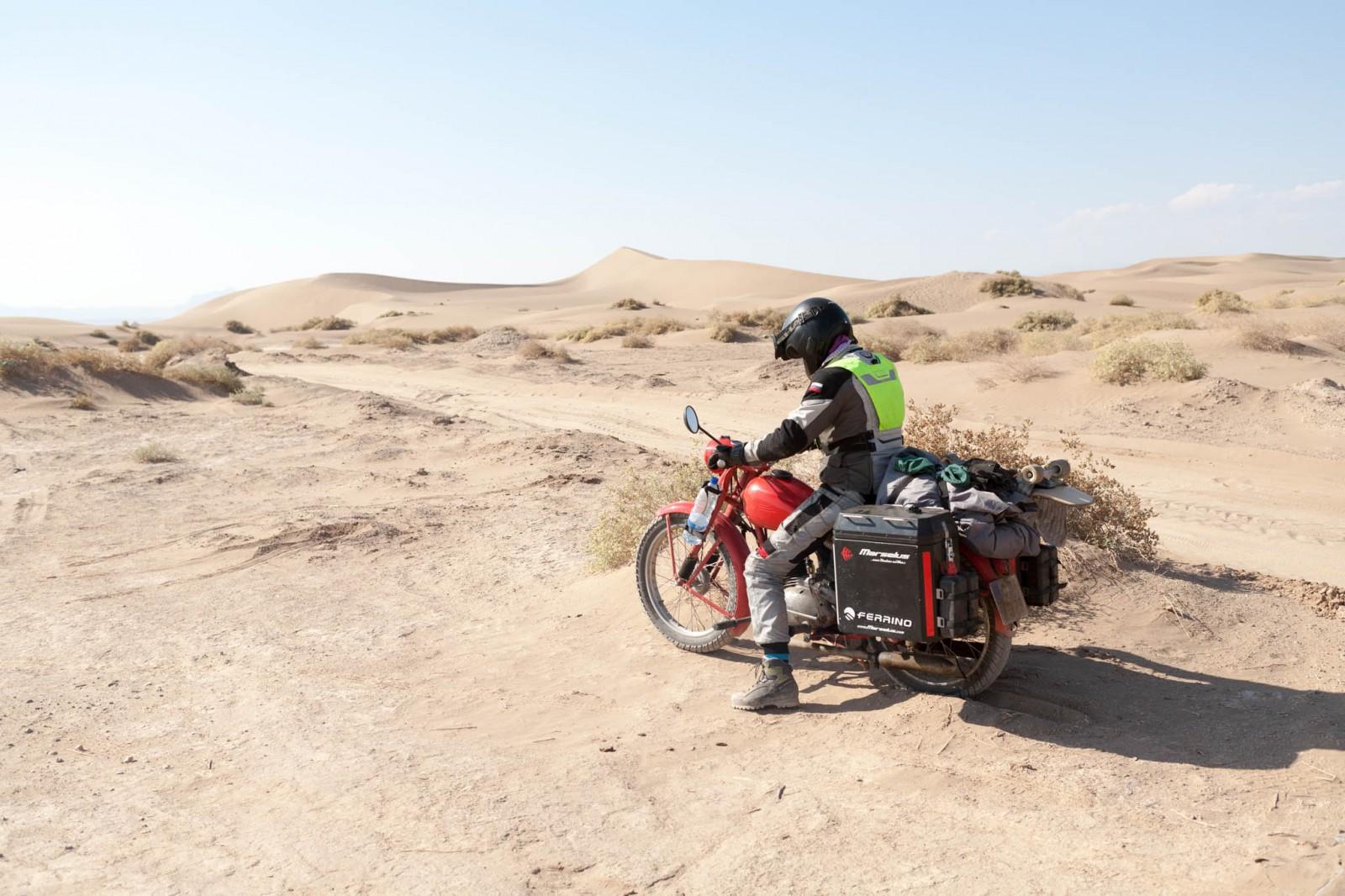 Zetka v poušti