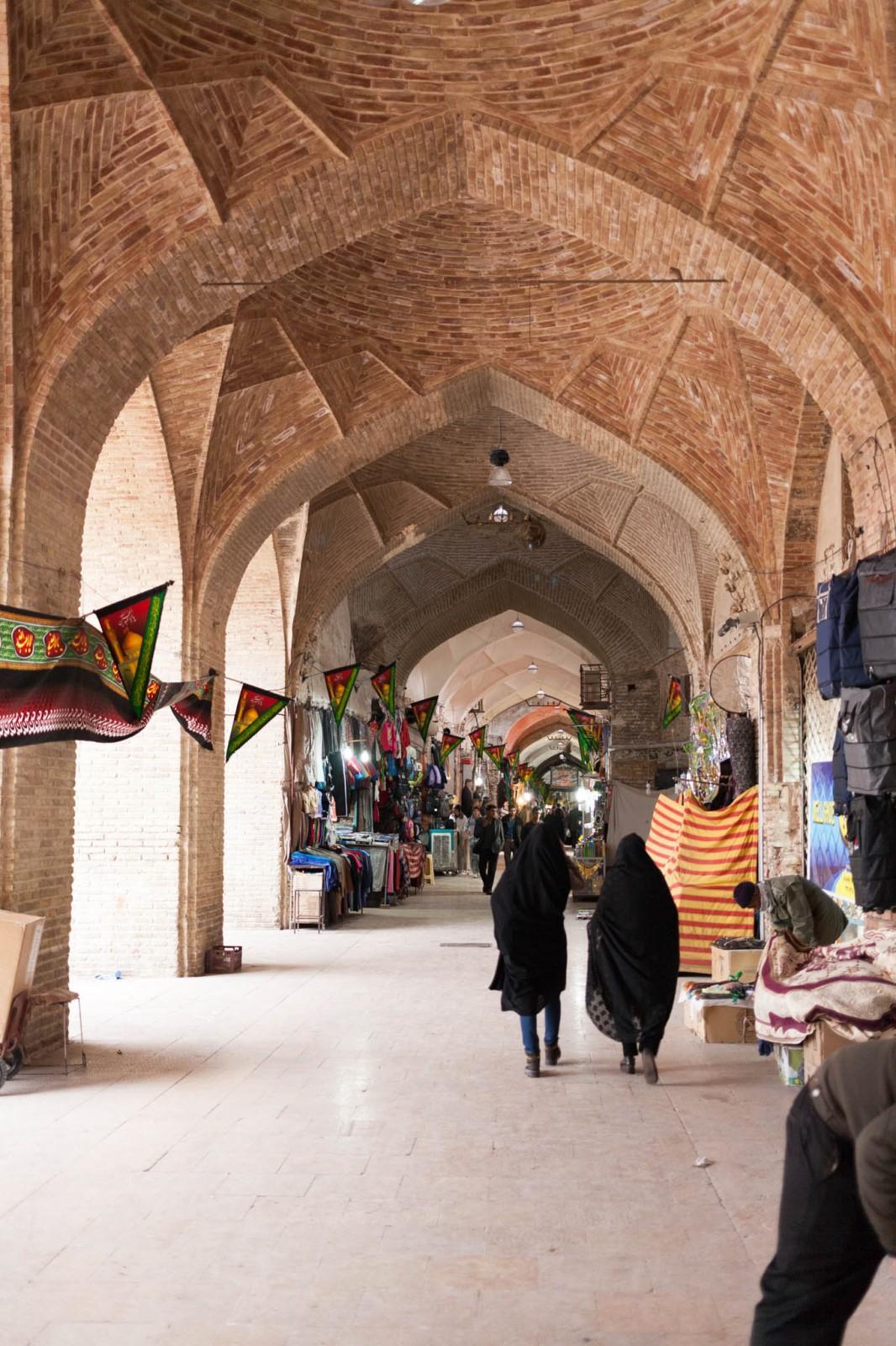 Kermanský bazaar